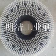 PVC板圆盘清洗毛刷厂家直销图片
