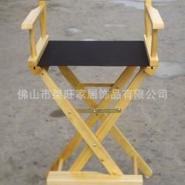 供应高脚折叠导演椅实木折叠椅酒吧椅折叠化妆椅户外休闲椅子