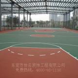 供应深圳刷户外蓝羽球场漆,篮球室外场地油漆、网球场地面翻新