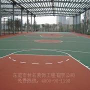 深圳蓝羽球场油漆