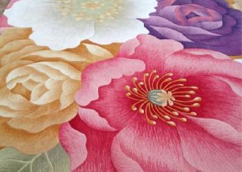 上海办公羊毛地毯价格图片