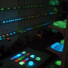 供应用于硅胶手环玩具的注塑夜光粉PVC注塑夜光粉图片