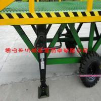 供应升降手动式移动齿轮登车桥生产厂家