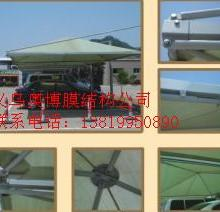金华钢结构膜结构停车棚