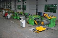 供应650金属纵剪分条生产线/ 金铮机械650标准分条生产线
