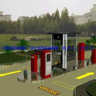 青岛开发区小区出入口控制系统图片