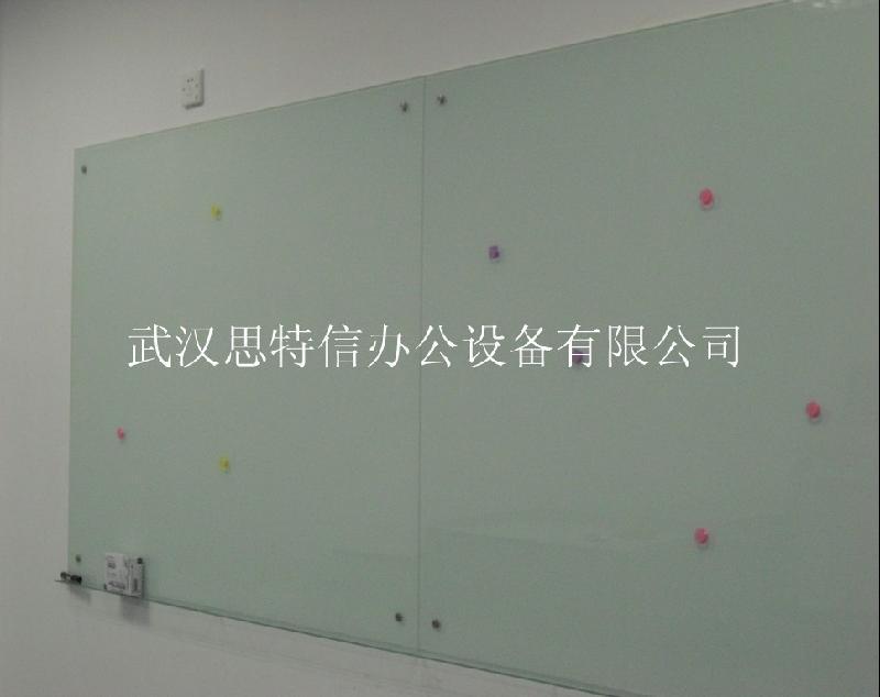 供应写字板白板 超白玻璃白板 投影书写两用