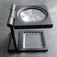 10倍折叠金属放大镜图片