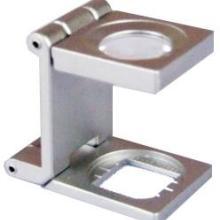 供应10倍15倍三折式放大镜原装进口厂价批发