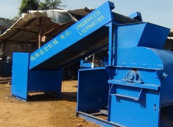 供应12年新型湿药渣粉碎机海南金宏机械