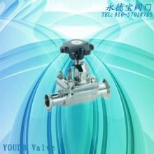 供应进口卫生级隔膜阀316L材质隔批发