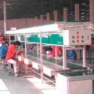 电池生产线生产输送线流水线图片
