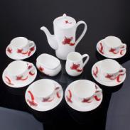 骨瓷15头咖啡具套装图片