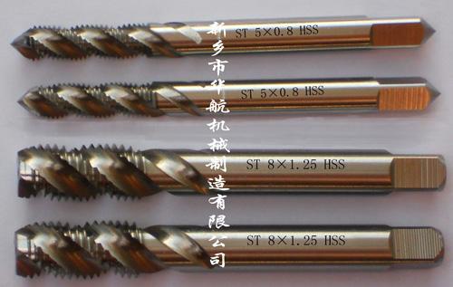 华航钢丝螺套专用螺旋槽丝锥