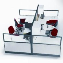 广州屏风式办公桌生产厂家批发价格 屏风式办公桌批发