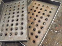 供应镀锌防滑板板厚2mm,折弯50,20批发