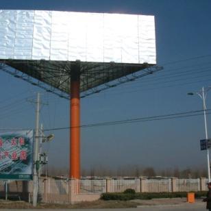 户外广告牌广告塔工地围挡制作施工图片