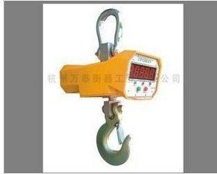 供应杭州万泰3吨直视无线遥控电子吊钩称