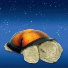 供应毛绒夜明海龟投影星空灯三色光可控