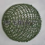 任丘市鸿飞绢花厂供应:仿真草球架,塑料球架,仿真球架,仿真花,绢花