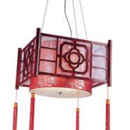 中式客厅书房餐厅木艺灯酒店工程灯图片