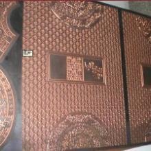 供应浮雕深压纹烫金版专业精制浮雕凹凸深压纹腐蚀铜板