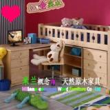 供应儿童床/实木组合床/广州深圳珠海