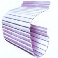 供应机床防护裙帘 卷帘防护罩