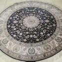 真正纯手工真丝地毯采用天然蚕丝图片