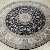 供应真正纯手工真丝地毯采用天然蚕丝