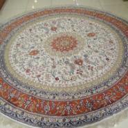 中国丝绸地毯东方丝毯图片