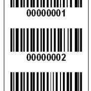 加工打印条码流水号不干胶标签图片