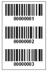 东莞打印条码流水号标签图片