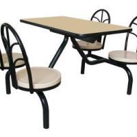 供应珠海斗门玻璃钢餐桌厂玻璃钢餐桌椅