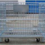 供应周转仓储笼、标准折叠仓储笼、深圳金属仓储铁笼