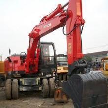 供应辽宁二手轮胎挖掘机;二手日立215轮胎挖掘机