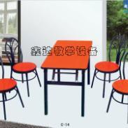 最新款食堂餐桌图片