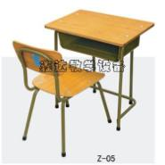 固定式学生课桌椅供应图片