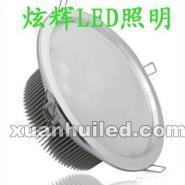 12W大功率LED筒灯图片