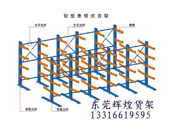 供应广州海珠区悬臂式货架,货架供应商