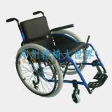 供应航空铝材运动超轻轮椅
