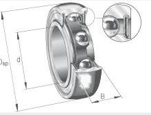 供应RB208轴承skf轴承通用零部件RB208KYH外球面轴承