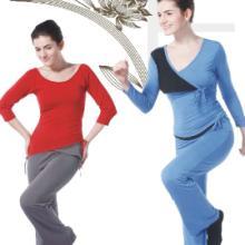 供应广州一梵秋冬新款日本棉套装、批发瑜伽服、休闲家居服套装