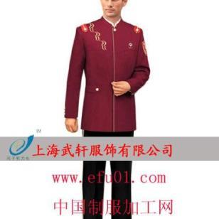 短袖保安制服图片