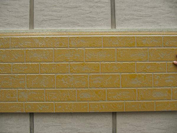 供应金属压花面外墙保温装饰板图片