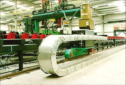 供应1型钢制拖链数控机床拖链