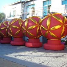 供应甘肃庆阳广告气模金狮子金绣球气模