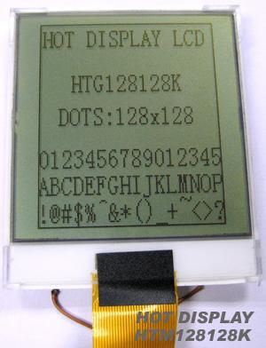 LCD128128单色黑白液晶点阵显示屏128128