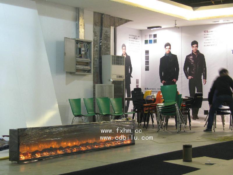 供应国际品牌服装展会壁炉设计定制案例