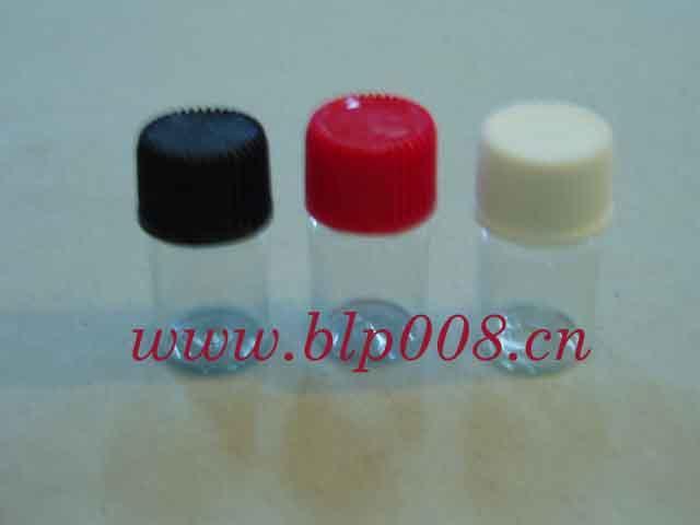 3ML塑料盖玻璃瓶图片/3ML塑料盖玻璃瓶样板图 (2)